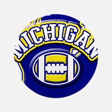 "Michigan Football 3.5"" Button"