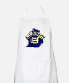 Michigan Football BBQ Apron