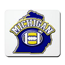 Michigan Football Mousepad