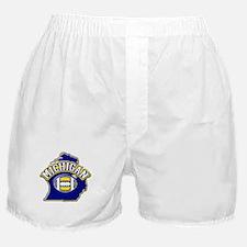 Michigan Football Boxer Shorts
