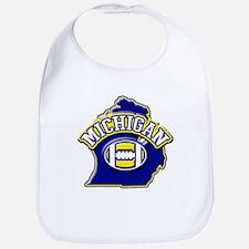 Michigan Football Bib