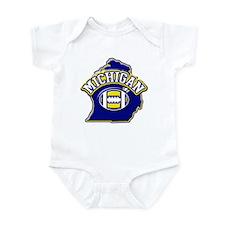 Michigan Football Infant Bodysuit