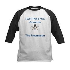 Grandpa's gift to me! Kids Baseball Jersey