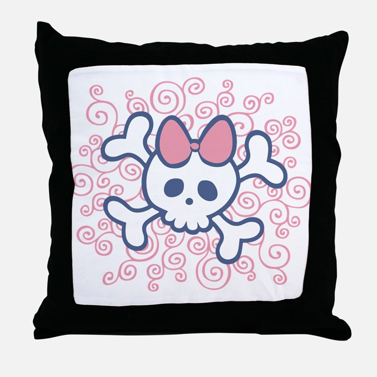 Milly Squigs Throw Pillow
