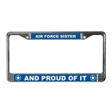 Air Force Sister License Plate Frame