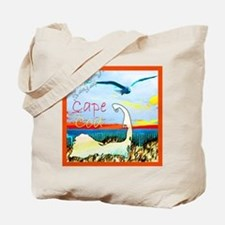 Cape Cod Gull Tote Bag