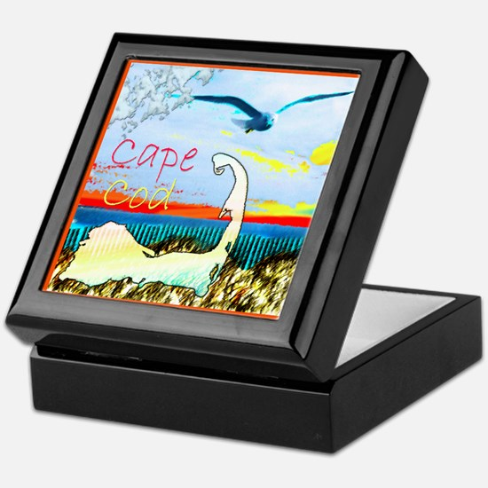 Cape Cod Gull Keepsake Box