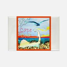 Cape Cod Gull Rectangle Magnet