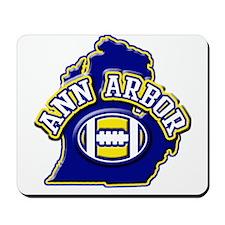 Ann Arbor Football Mousepad