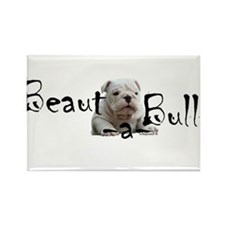Beaut-a-Bull Rectangle Magnet