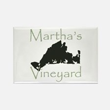 Martha's Vineyard Rectangle Magnet