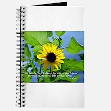 Cute Wildflowers Journal