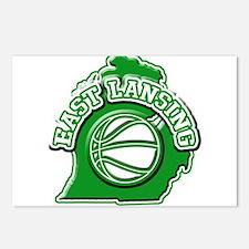 East Lansing Basketball Postcards (Package of 8)