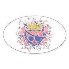 Molly McQueen Oval Decal