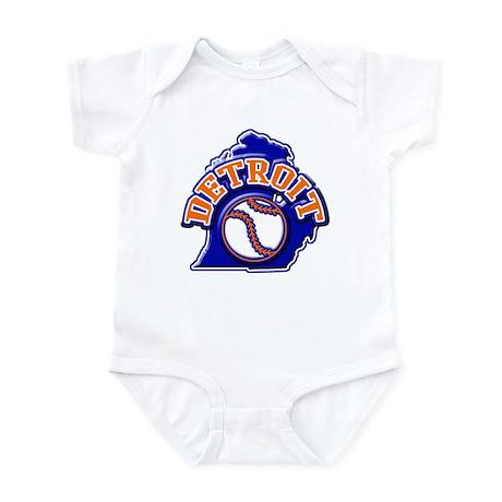 Detroit Baseball Infant Bodysuit
