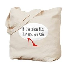 Shoe Fits Tote Bag