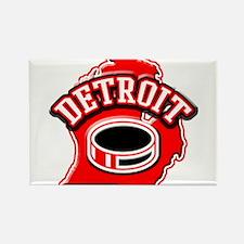 Detroit Football Rectangle Magnet