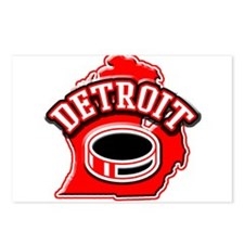 Detroit Football Postcards (Package of 8)