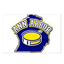 Ann Arbor Hockey Postcards (Package of 8)