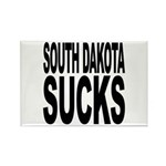 South Dakota Sucks Rectangle Magnet