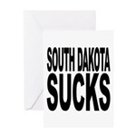 South Dakota Sucks Greeting Card