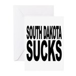 South Dakota Sucks Greeting Cards (Pk of 10)