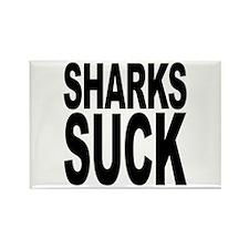 Sharks Suck Rectangle Magnet (100 pack)
