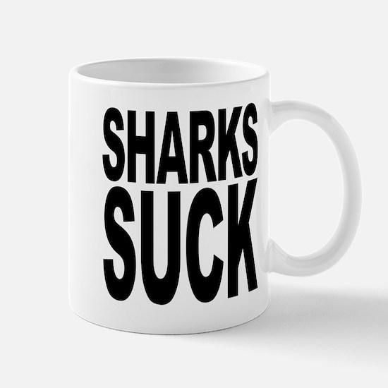 Sharks Suck Mug