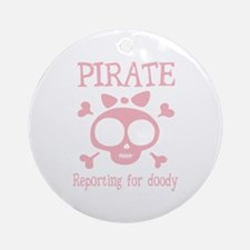 Pirate Doody Ornament (Round)