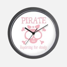 Pirate Doody Wall Clock