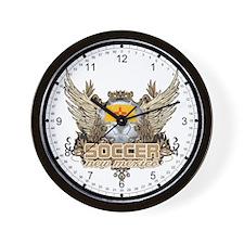 Soccer New Mexico Wall Clock