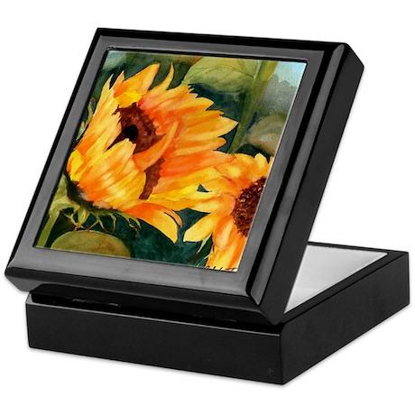 Sunflower II Keepsake Box