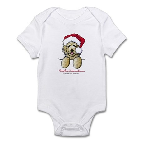 Pocket Santa Fletcher Infant Bodysuit