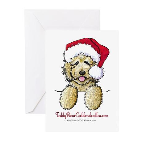 Pocket Santa Fletcher Greeting Cards (Pk of 10)
