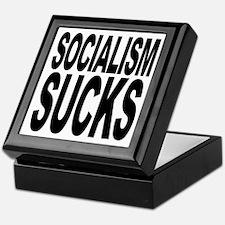 Socialism Sucks Keepsake Box