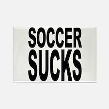 Soccer Sucks Rectangle Magnet