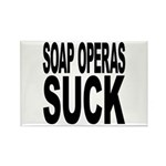 Soap Operas Suck Rectangle Magnet (100 pack)