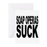 Soap Operas Suck Greeting Cards (Pk of 20)