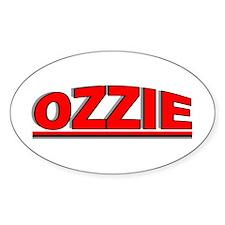 """Ozzie"" Oval Decal"