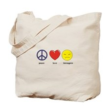 Teenagers Tote Bag