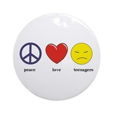 Teenagers Ornament (Round)