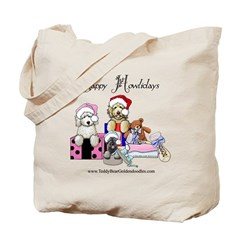 Yappy Howlidays Tote Bag