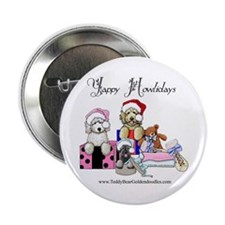 "Yappy Howlidays 2.25"" Button"