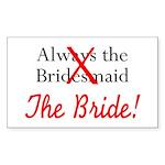 Bride Rectangle Sticker