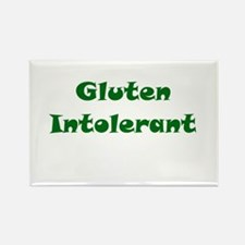 Gluten Intolerant Rectangle Magnet