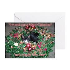 Tuxedo Kitten Christmas Cards (Pk of 20)