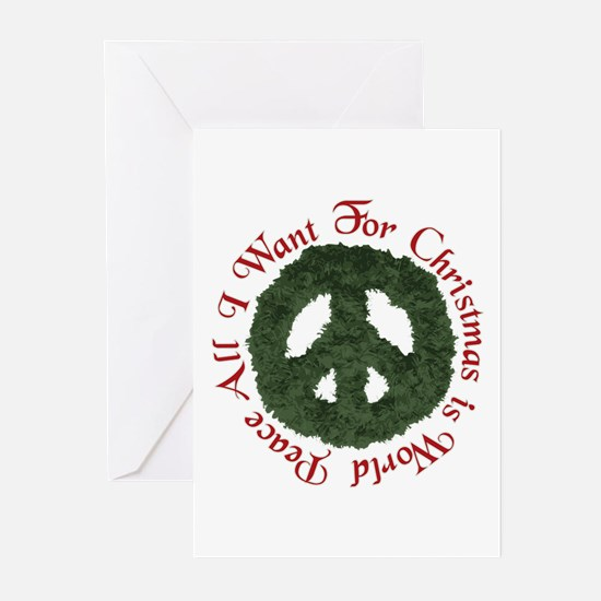 Christmas World Peace Greeting Cards (Pk of 20)