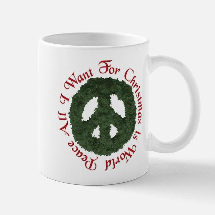 Christmas World Peace Mug
