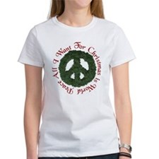 Christmas World Peace Tee