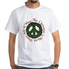 Christmas World Peace Shirt